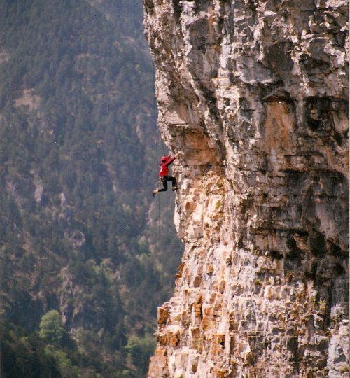 2000-04-25 Παρακολούθηση σχολείου Ορεινής Διάσωσης Γ Στάδιο (Ζηλνιά Κόψη Αετών VI- A1)1
