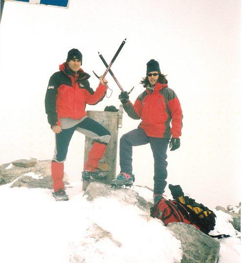 2001-02-17 έως 18 Όλυμπος (ανάβαση Μύτικα από κακόσκαλα)2